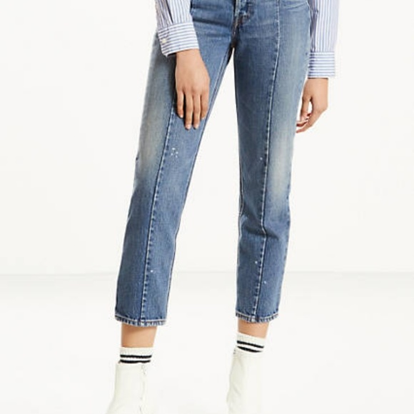 1a80d974157 Levi's Jeans | Levis Altered Straight Front Seam Button Fly | Poshmark